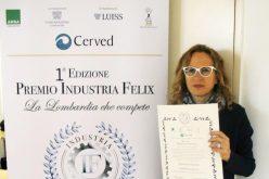 """Zucchetti riceve il premio """"Industria Felix – La Lombardia che compete"""" come miglior azienda della Provincia di Lodi"""