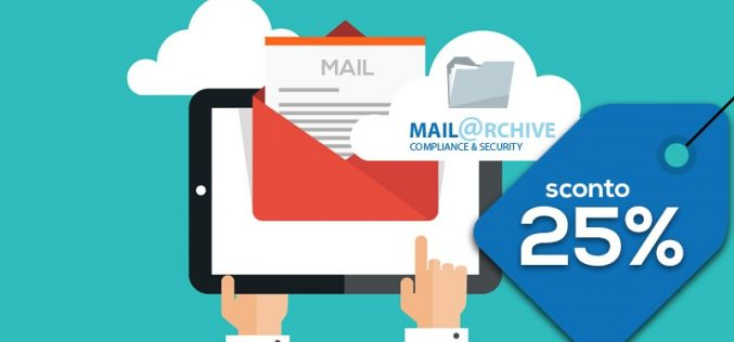 MailArchive: archiviare la posta non è mai stato così conveniente