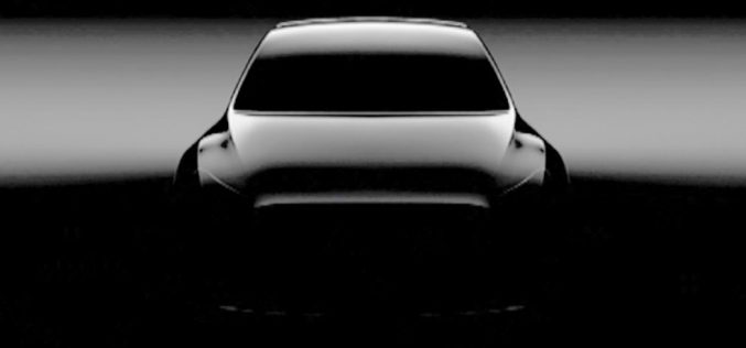 Model Y, ecco le prime immagini del SUV di Tesla