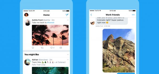 Twitter si rifà il look per essere più agile e intuitivo