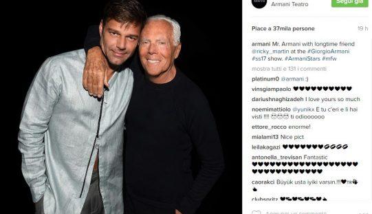 Milano Moda Uomo su Instagram: grande successo per Armani con Shawn Mendes