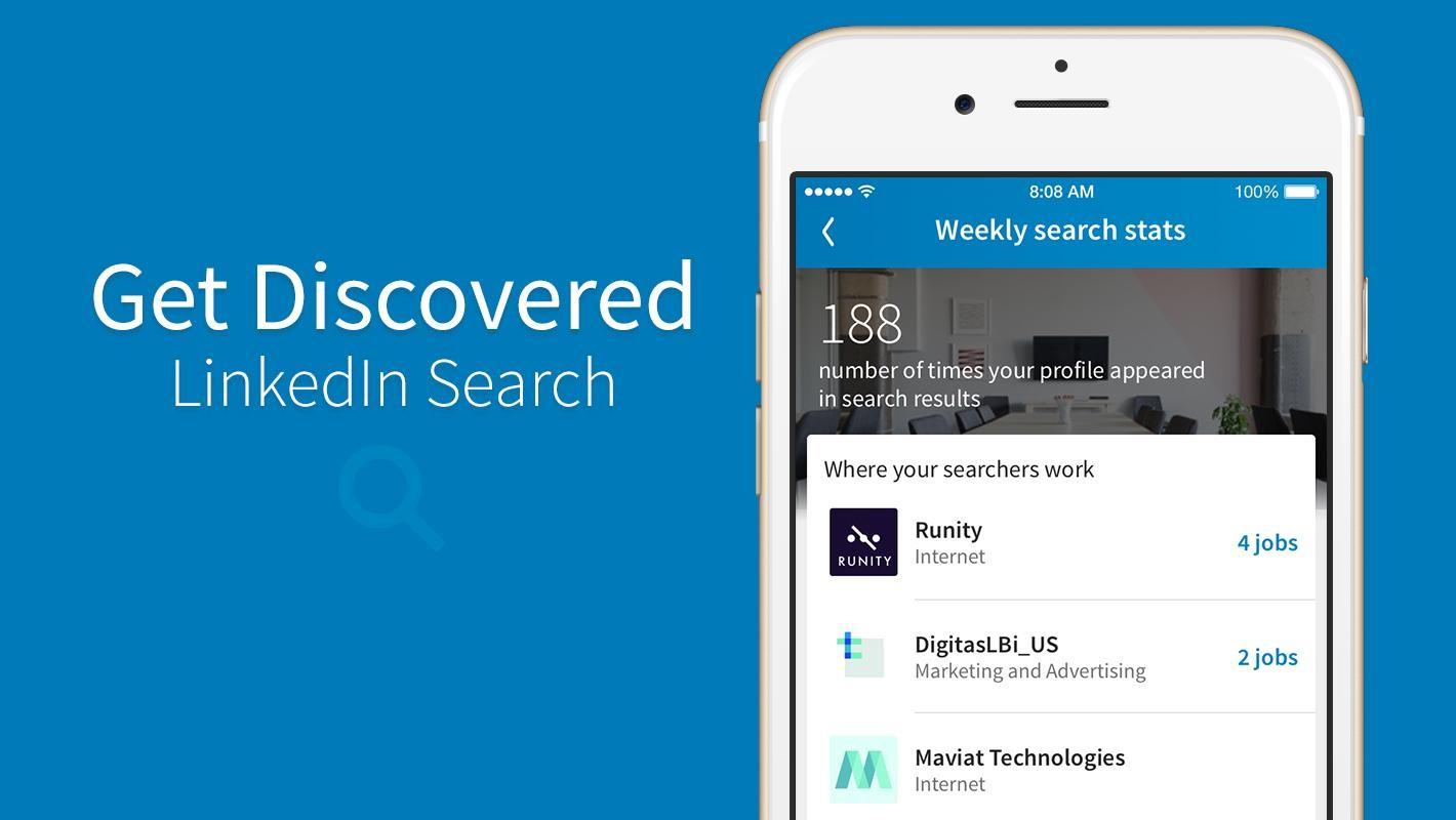 Linkedin Search Appearances