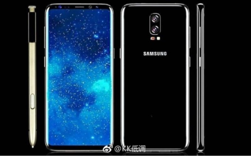 Samsung Galaxy Note 8 avrà un Infinity Display da 6.3 pollici