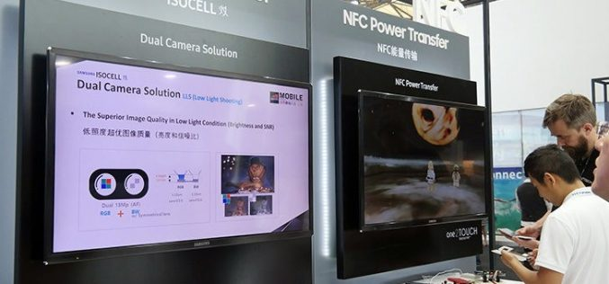 Samsung presenta la Dual Camera di Galaxy Note 8
