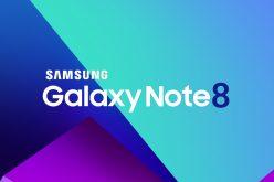 Il Galaxy Note 8 arriva il 26 agosto