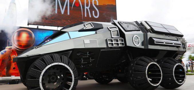 La NASA viaggerà su Marte con la Batmobile?