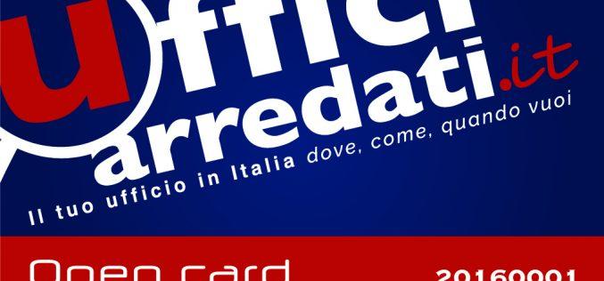 Viaggiare per lavoro e avere accesso a uffici in tutta Italia: nasce la Open Card da un progetto di due imprenditori, fondatori di Ufficiarredati.it