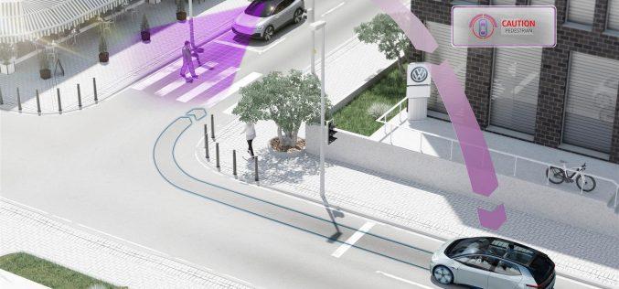 Dal 2019, i veicoli Volkswagen comunicheranno per una maggiore sicurezza stradale