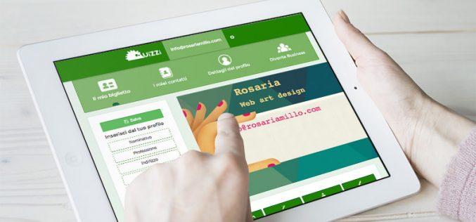 Uizzi, l'app per creare, archiviare e condividere biglietti da visita digitali
