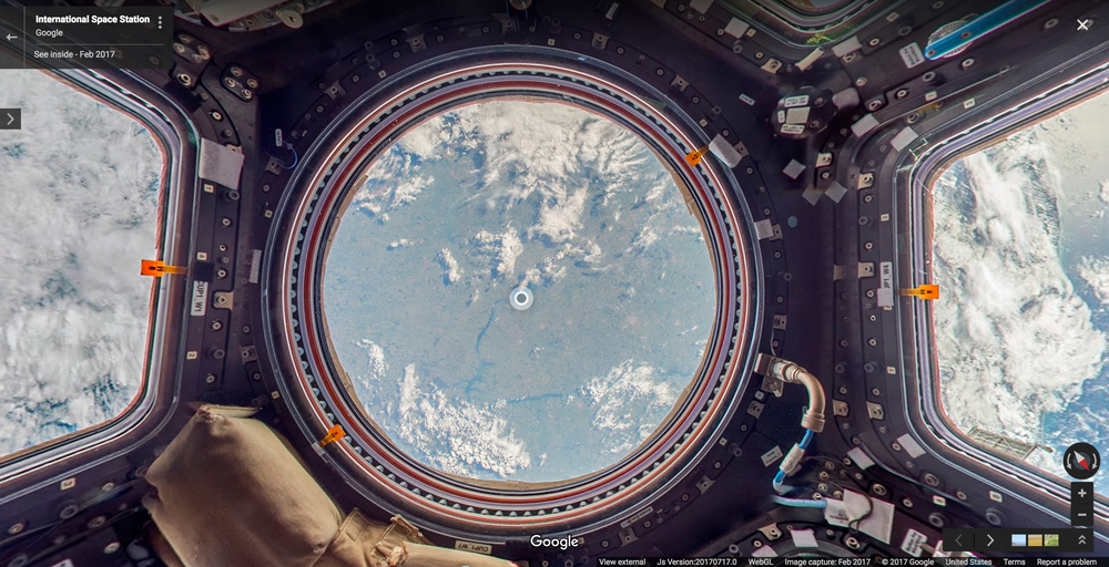 street view iss