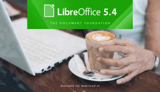 LibreOffice 5.4 rilasciato con nuove funzionalità per Writer, Calc and Impress