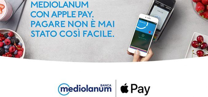 Banca Mediolanum con Apple Pay: pagare non è mai stato così facile