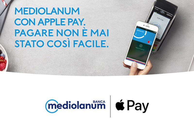 Apple Pay aggiunge Mediolanum alle carte supportate