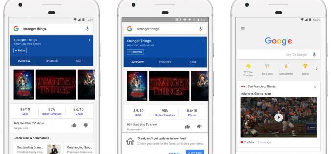Anche Google avrà la sua News Feed