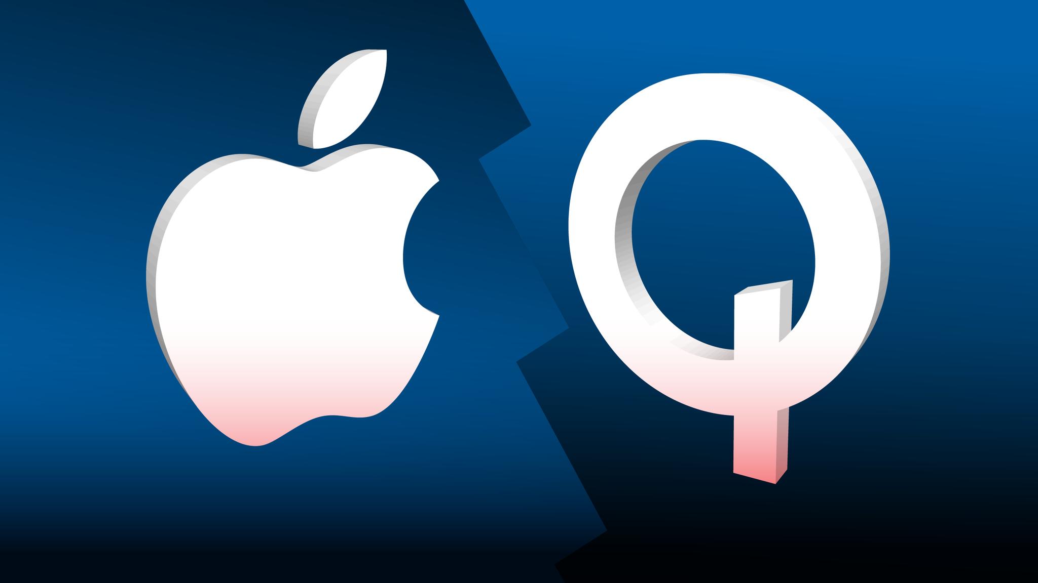 Qualcomm chiede ad Apple 7 miliardi di royalties