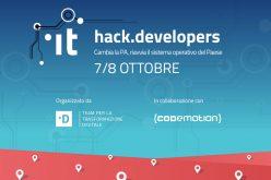 HACK.DEVELOPERS: il più grande hackathon italiano per una PA a misura di cittadino
