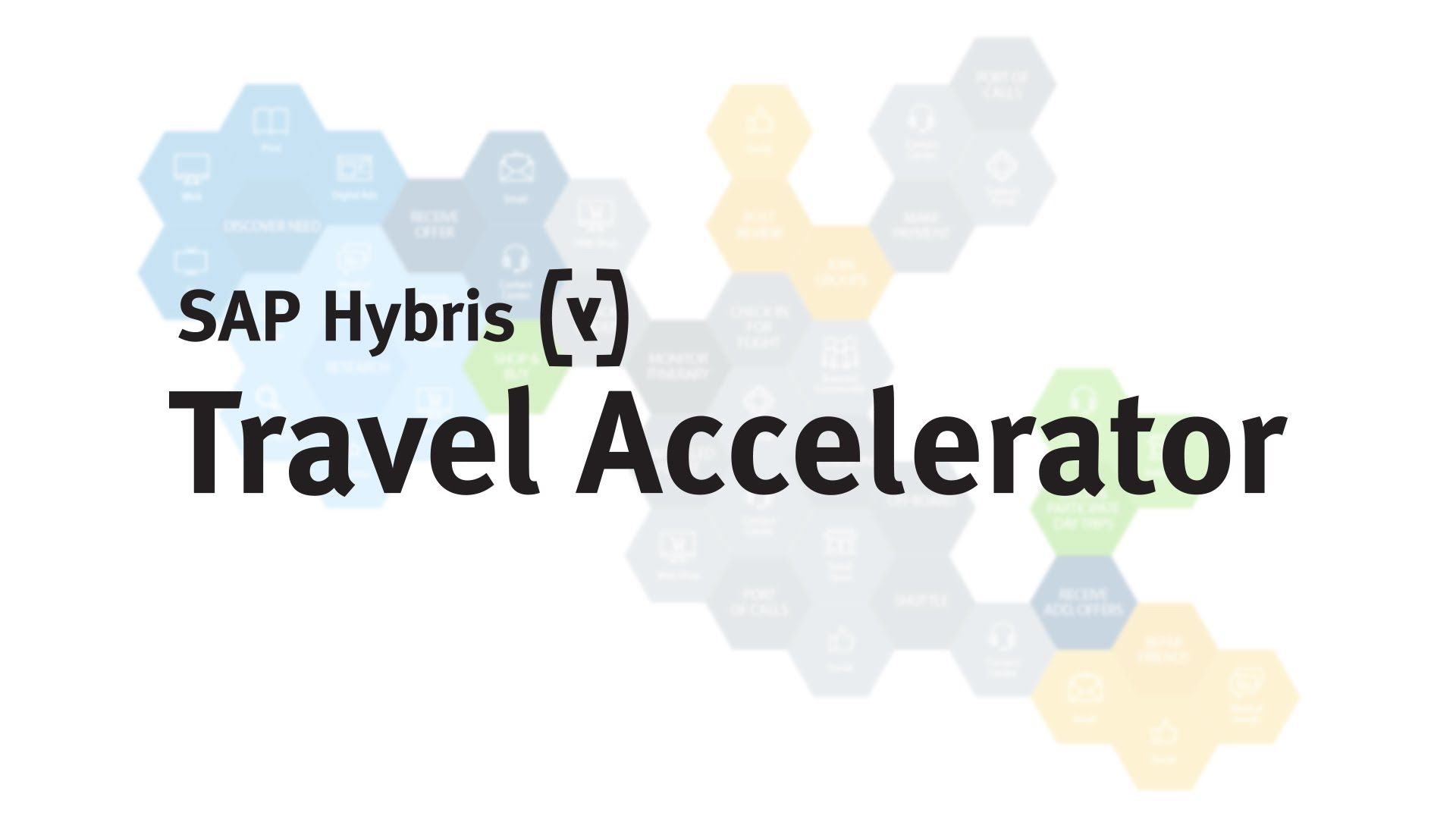 SAP Hybris Travel Accelerator