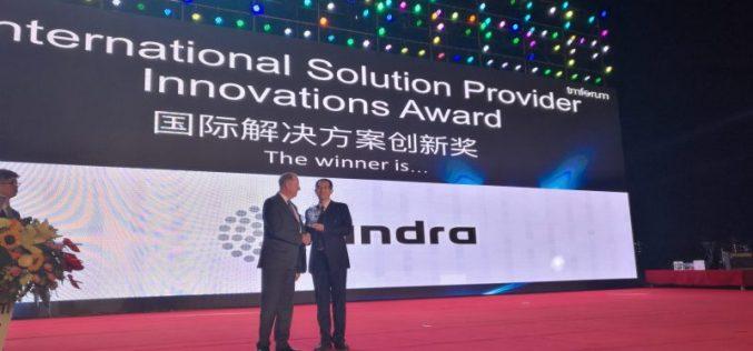 Indra vince il premio per la piattaforma IoT più innovativa per smart cities a livello mondiale
