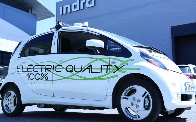 Indra inizia i test del veicolo autonomo a Madrid, all'interno del progetto AUTOCITS