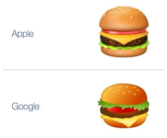 google hamburger