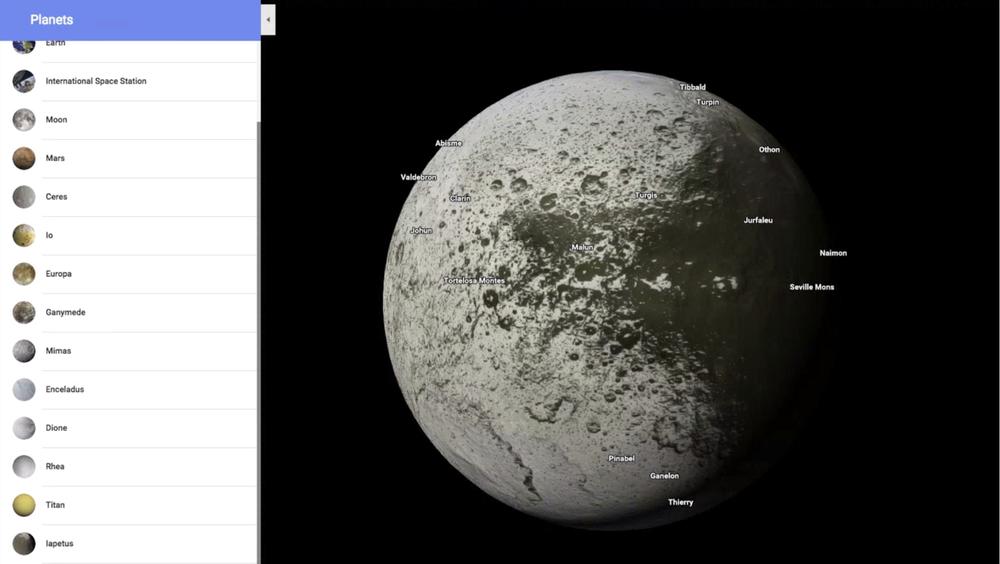 google maps spazio