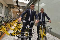 ofo colora Milano di giallo: da oggi la flotta di 4.000 ofo bike è al completo