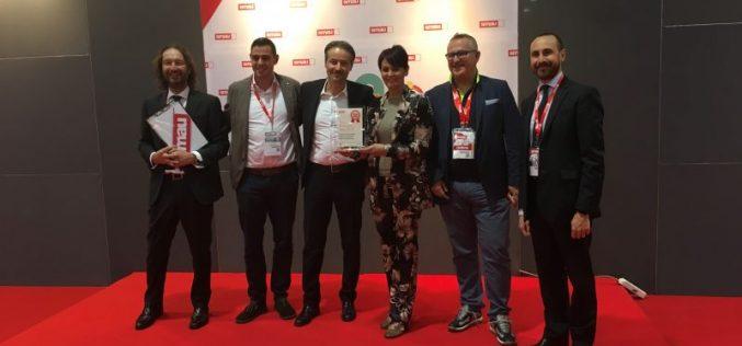 Würth-Hevolus ritirano il Premio Innovazione Smau 2017
