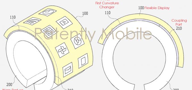 Samsung brevetta uno smartwatch con display flessibile