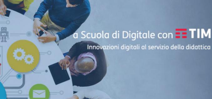 """Riparte """"A Scuola di Digitale con TIM"""" per avvicinare i docenti all'uso degli strumenti digitali"""