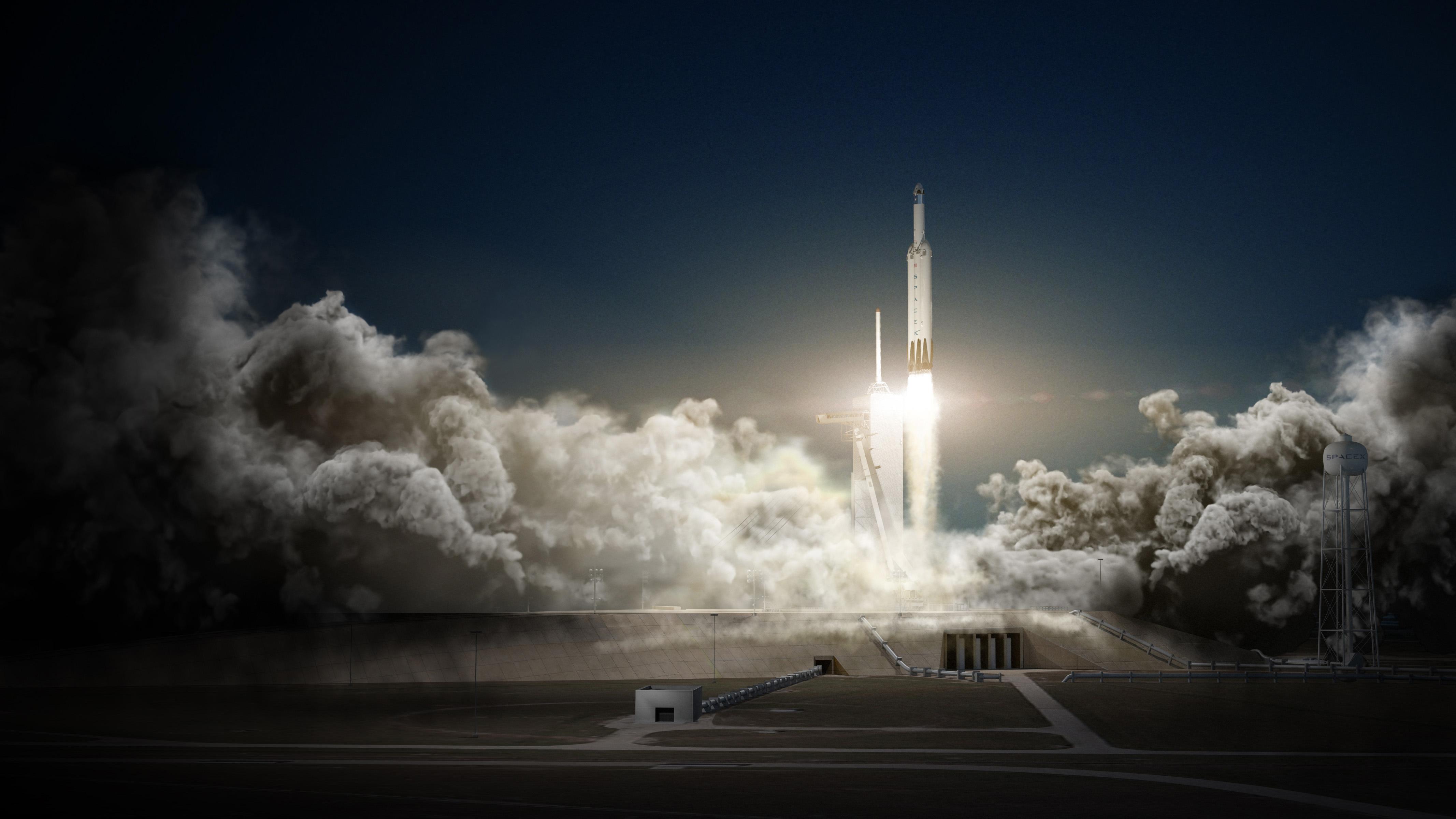 Elon Musk prepara le piste di lancio nel mezzo dell'Oceano