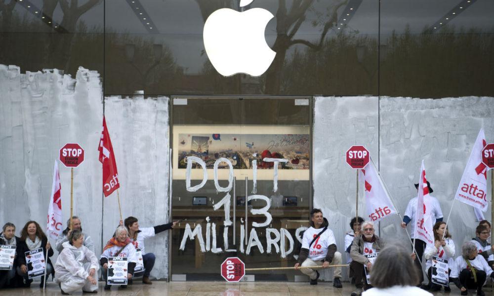apple store occupato