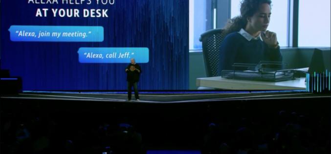 Amazon lancia Alexa for Business
