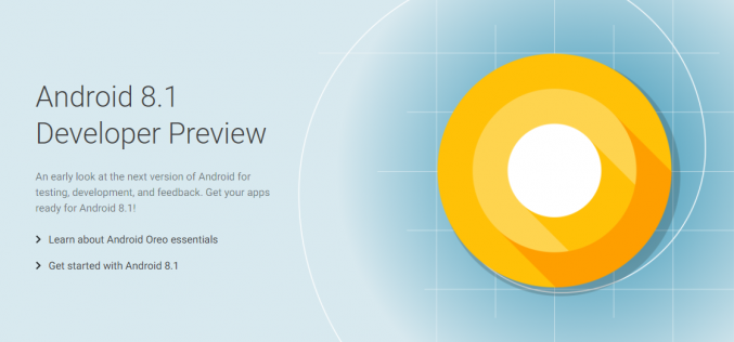Google rilascia Android 8.1 per Nexus e Pixel