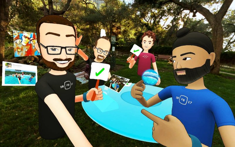 Facebook Spaces disponibile su HTC Vive