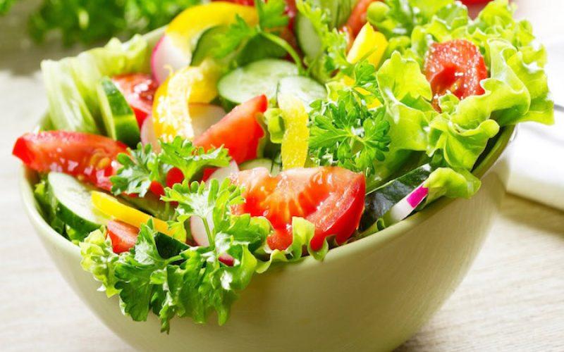 Memoria di ferro con un'insalata al giorno
