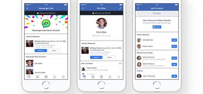 Facebook lancia Messenger Kids