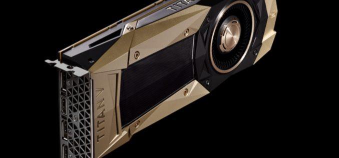 Ecco Nvidia Titan V, la più potente GPU al mondo