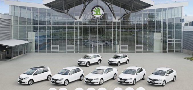 Record per ŠKODA AUTO: nel 2017 consegnate oltre 1,2 milioni di auto a livello mondiale