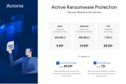 Acronis distribuisce la protezione ransomware gratuita basata su IA