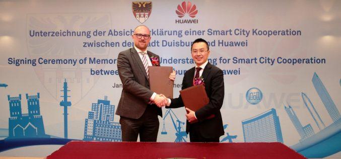 La città di Duisburg e Huawei firmano un accordo per la creazione di una Smart City