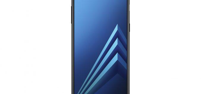 CES 2018, Samsung mostra il nuovo Galaxy A8