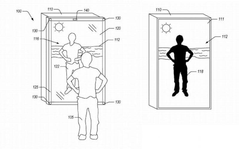 Amazon brevetta lo specchio che ti veste