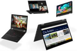 Lenovo presenta al CES 2018 la gamma ThinkPad più completa di sempre
