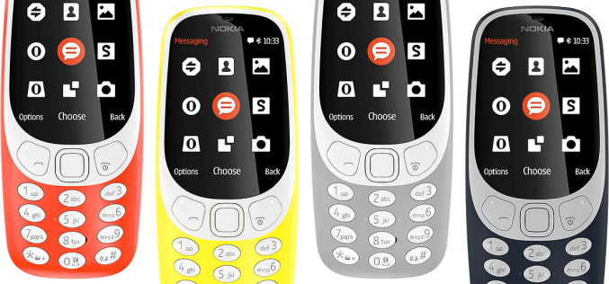 Nokia 3310 4G è dietro l'angolo