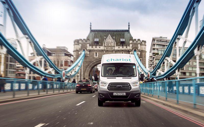 Ford Motor Company annuncia a Londra il lancio di Chariot, servizio di navetta su base collettiva