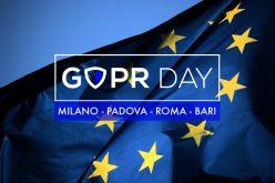 Nasce GDPR Day, il tour italiano di conferenze sul nuovo regolamento europeo sul trattamento dei dati personali