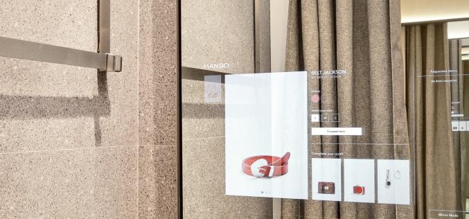 Vodafone e Mango lanciano il camerino digitale