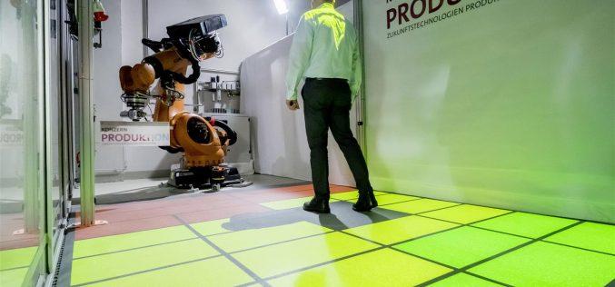 Zone di sicurezza dinamiche per la cooperazione fra persone e robot