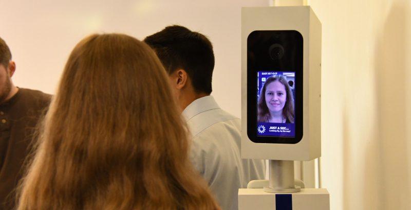 imbarco biometrico