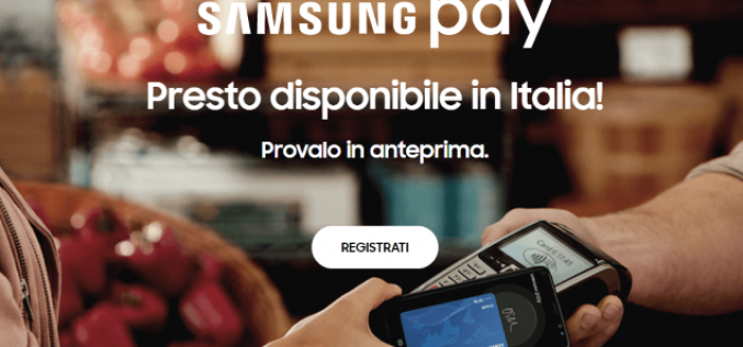 Arriva in Italia Samsung Pay